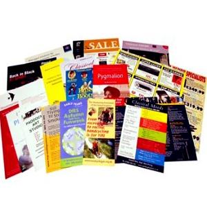 Flyers or Leaflets